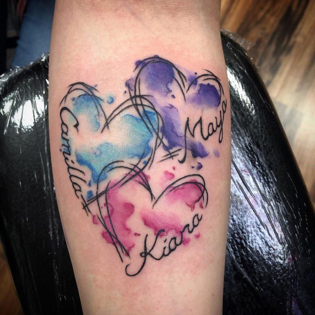 Mother tattoo by Ashley Nicholas