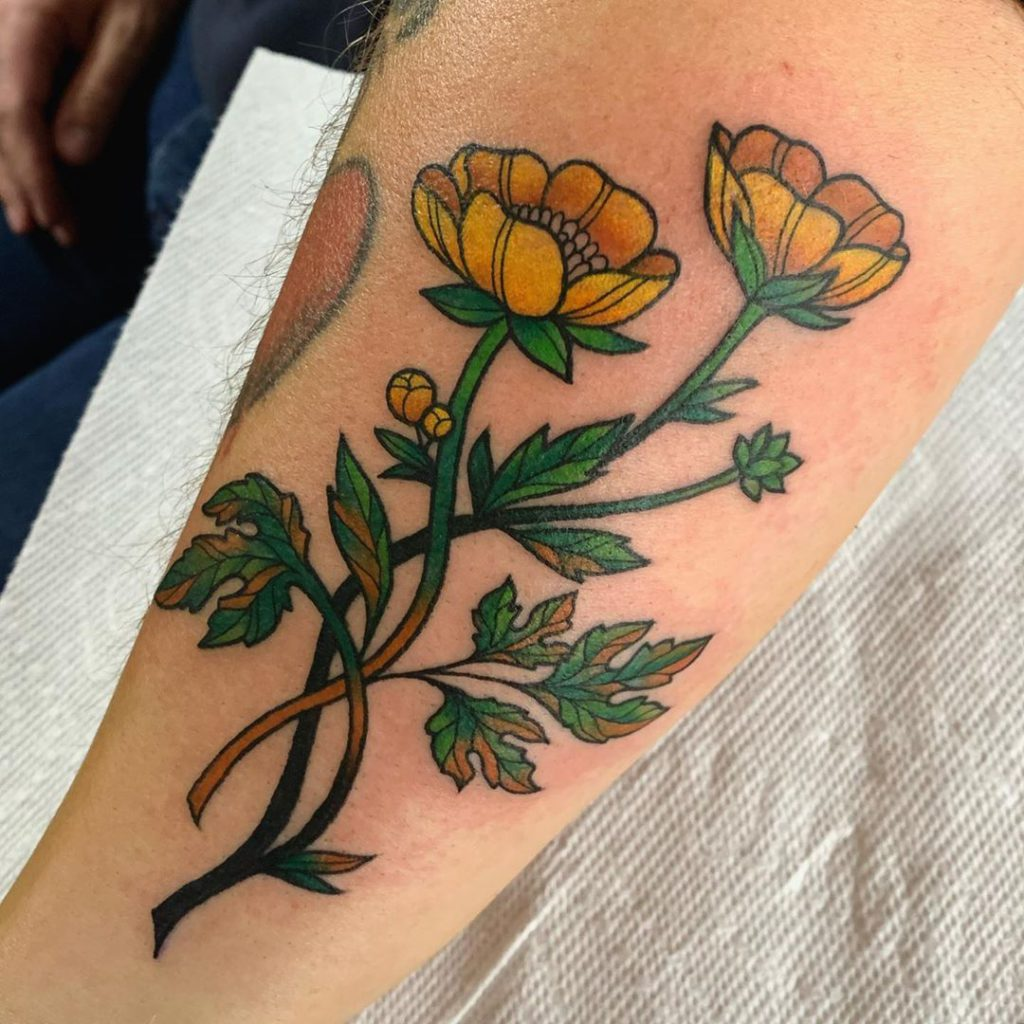 Buttercup tattoo on by conniegabbert